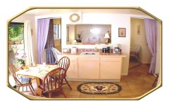 Orchid Suite Kitchen